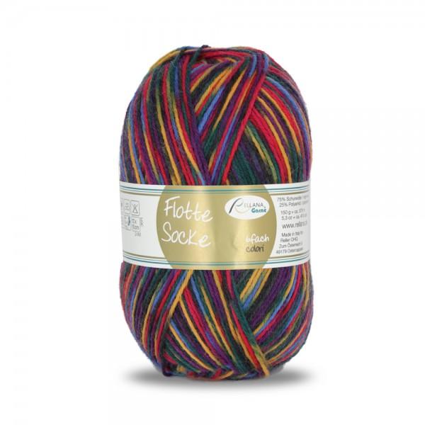 Flotte Socke 6f. 150 g colori