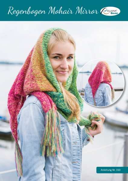 310 Regenbogen Mohair Mirror