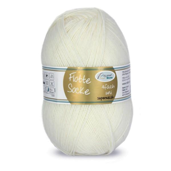 Flotte Socke 4f. 100 g uni