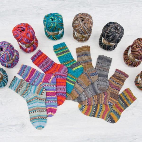 Flotte Socke 4f. Bambus-Merino Sparpaket
