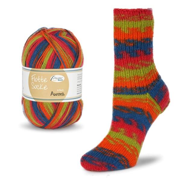 Flotte Socke 6f. Aurora
