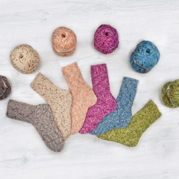 Flotte Socke 4f. Tweed Sparpaket