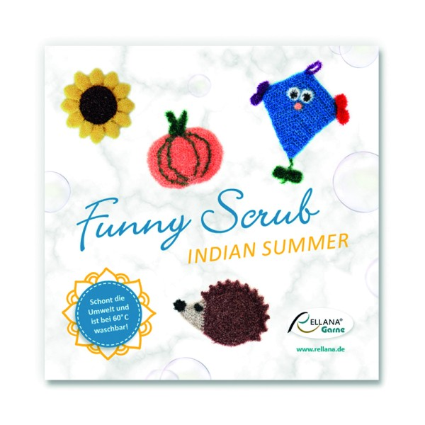 Funny Scrub Indian Summer - Anleitungsheft