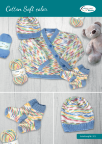 321 Cotton Soft color Babyjacke