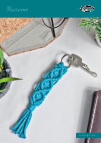 470 Macramé - Schlüsselanhänger