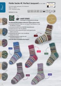 Farbkarte | Flotte Socke Perfect Jacquard