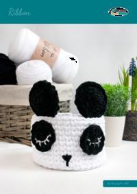 479 Ribbon   Panda Körbchen