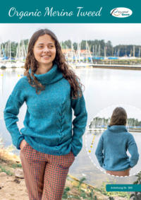 389 Organic Merino Tweed | Pullover
